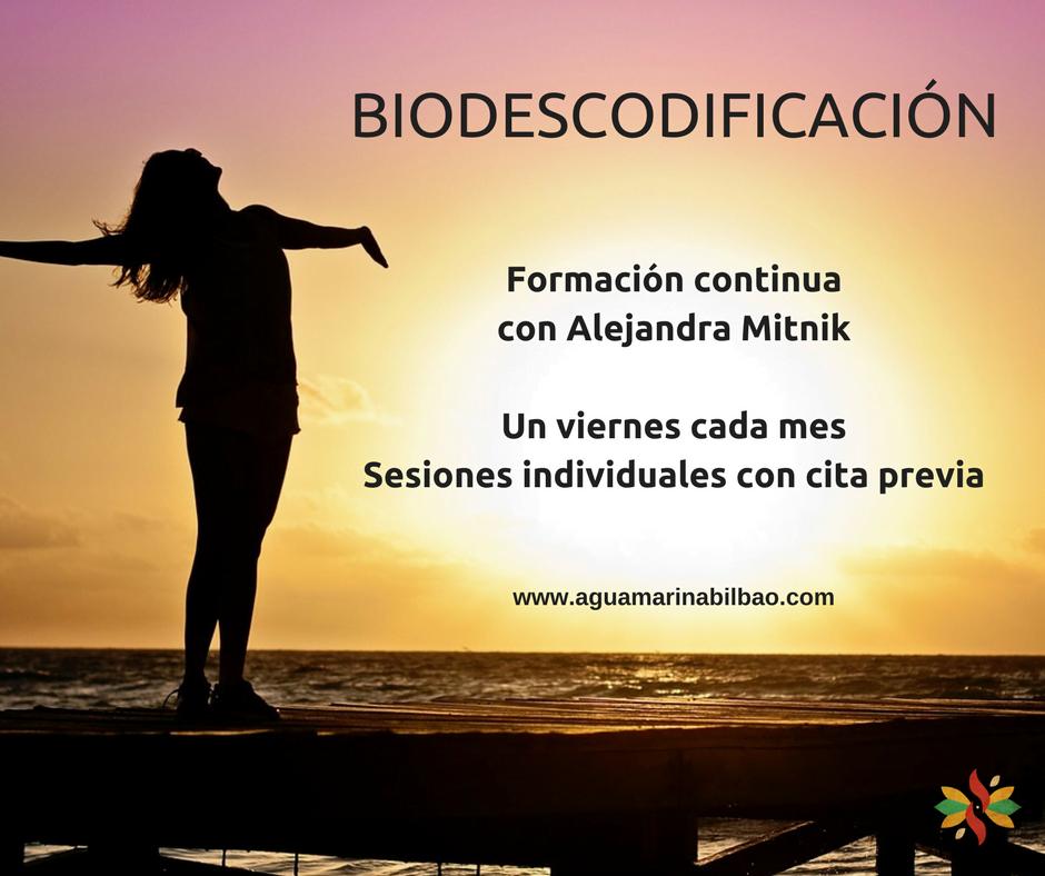 Biodescodificación en Bilbao  Formación y sesiones individuales